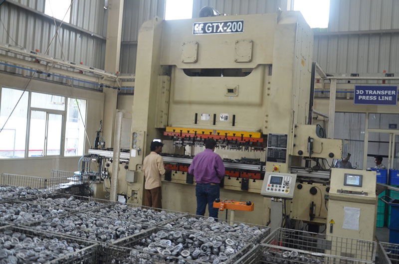 A Large Machine For Manufacturing